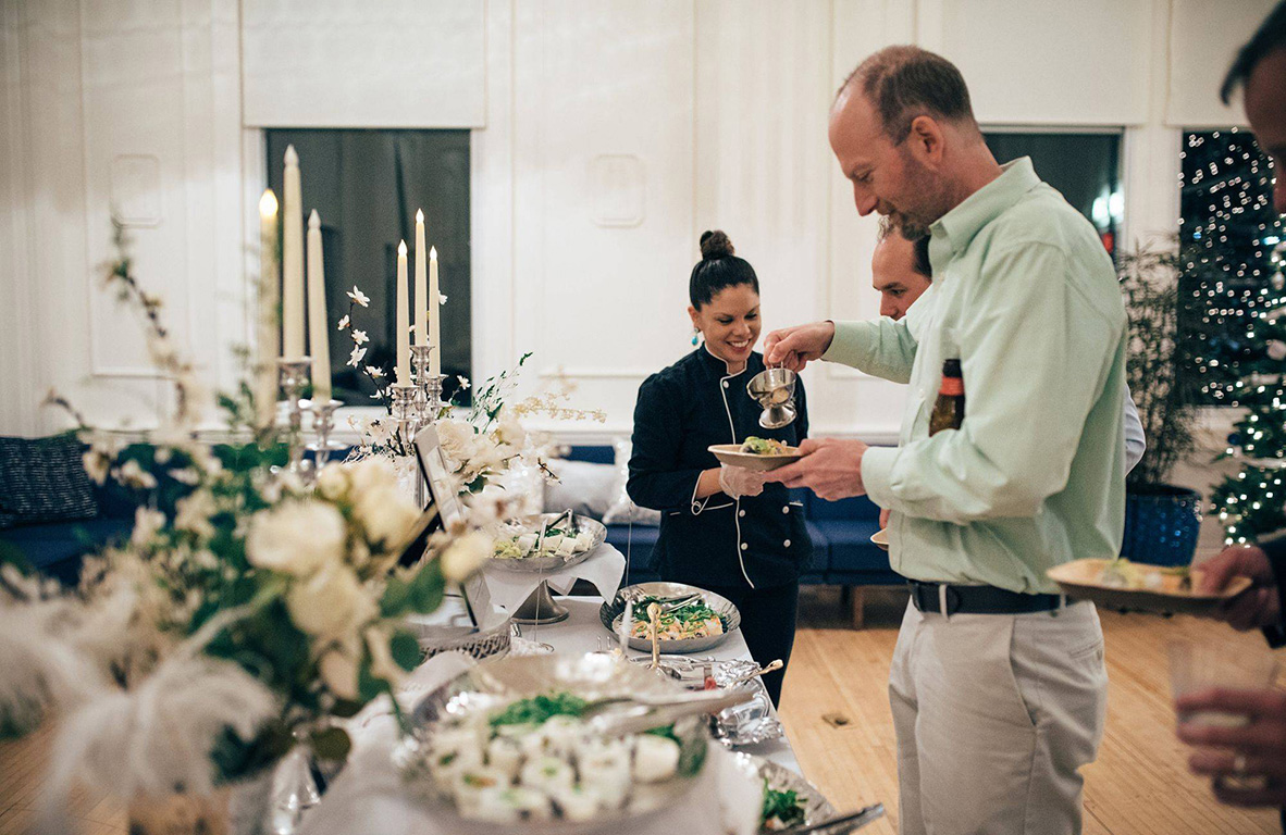 wedding catering in raleigh