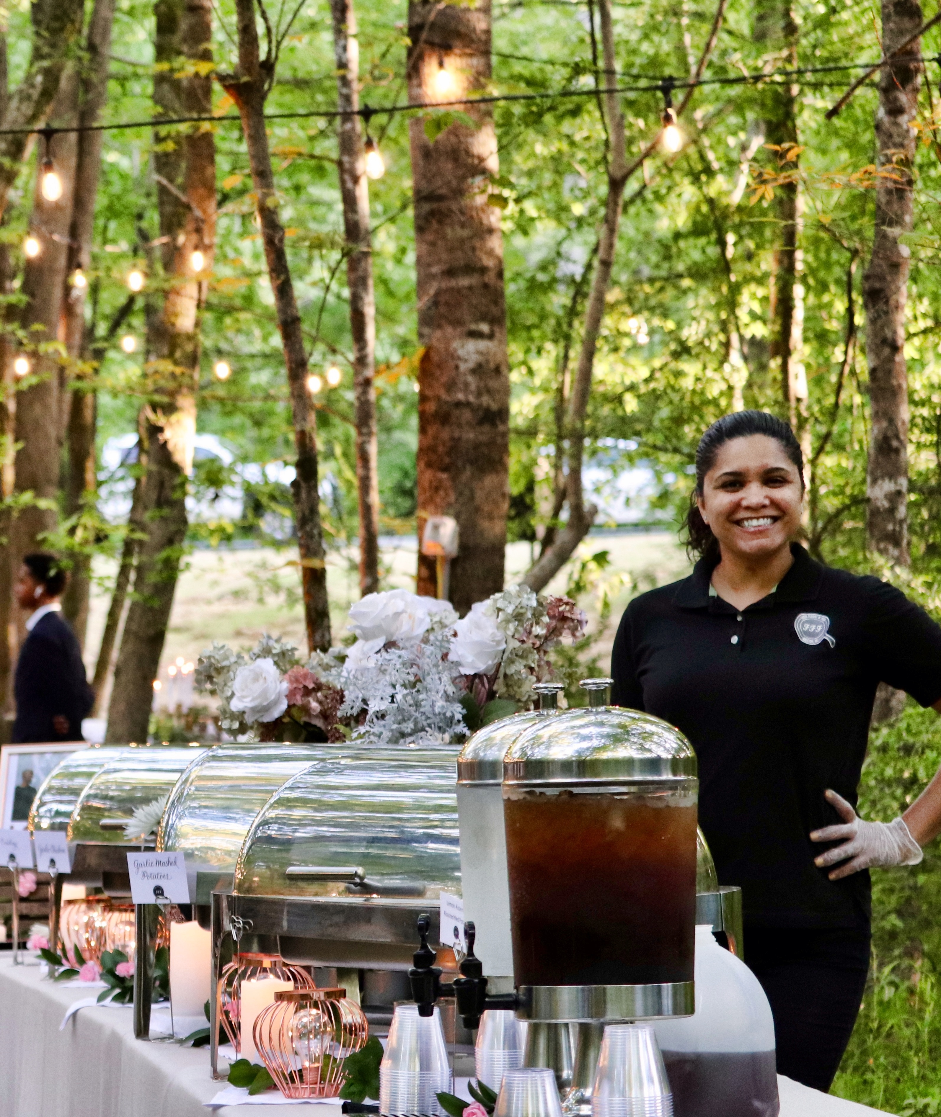 Real Weddings: Honoring Family through Food