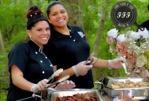 Real Weddings: Honoring Family Through Food